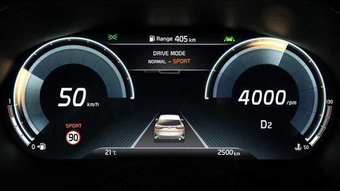 Digitálny prístrojový panel Kia predstaví v novom XCeed