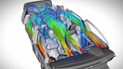Zo zákulisia: Klimatizácia vyžaduje dobrú aerodynamiku a veľa testov
