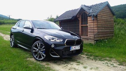Test BMW X2 M35i: Štýlový crossover na steroidoch