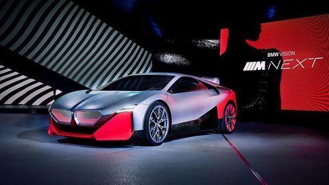 Toto je budúcnosť športových áut: BMW Vision M NEXT