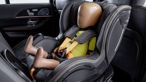 Detská sedačka Pre Safe Child má zvrátiť hrozivú bilanciu