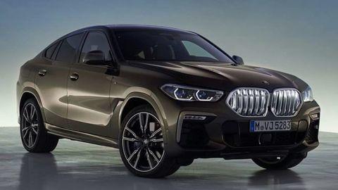 Toto je nové BMW X6 na uniknutých záberoch