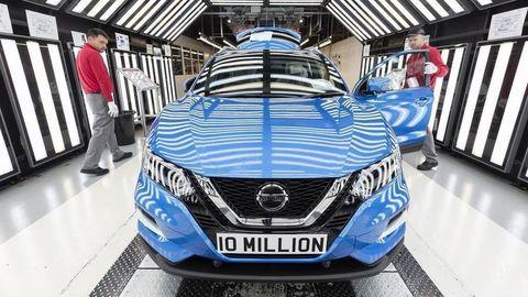 10-miliónty Nissan z Veľkej Británie
