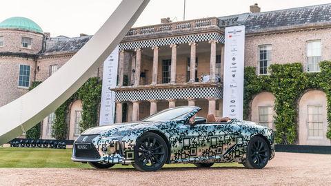 Lexus LC Cabrio ide do výroby