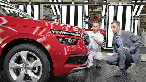 Škoda začala vyrábať mestský crossover Kamiq