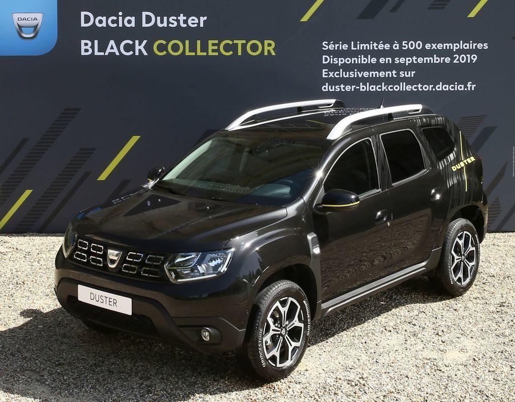 Exkluzívna Dacia Duster Black Collector
