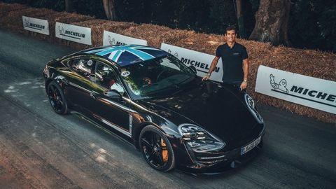 Prvý elektrický Porsche už jazdí na verejnosti