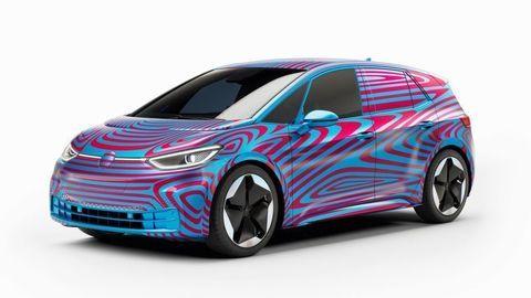 "Elektromobil VW ID.3 ukázal interiér na ""dočasnom"" videu"