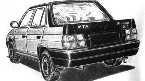 Netradičný Favorit pick-up konkuroval Toyote Hilux a mal úspech