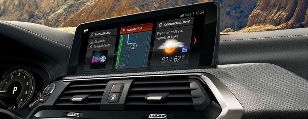moderná výbava v aute