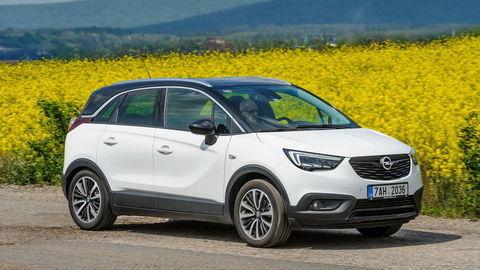 Opel Crossland X 1.5 CDTI: Úsporný motor, šesťstupňový automat