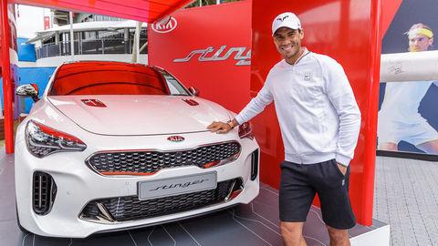 Kia Motors a Rafael Nadal utužili partnerstvo