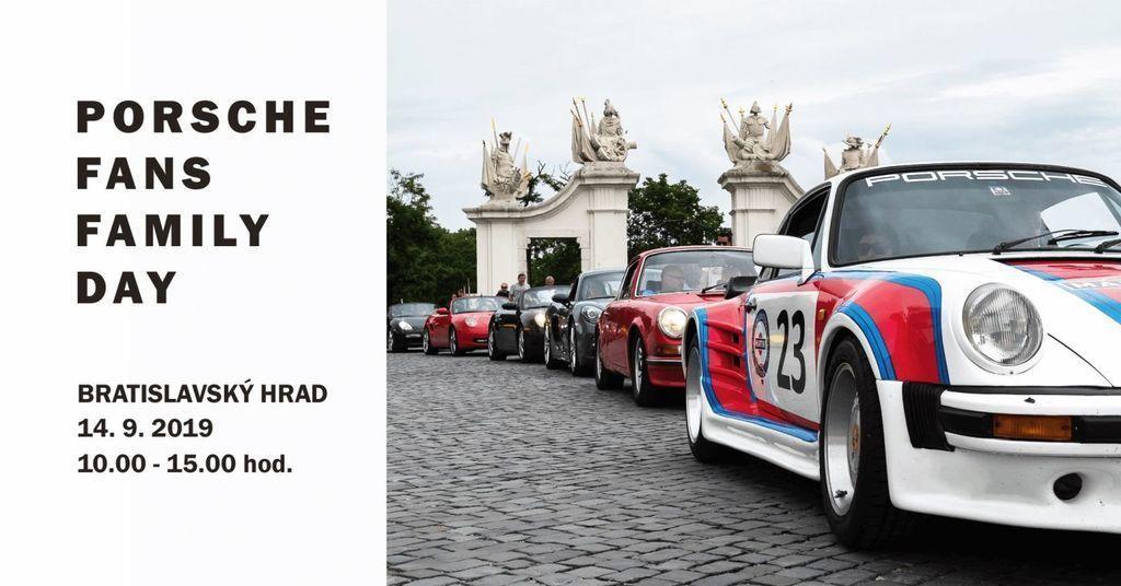Porsche zraz Porsche Fans Family Day