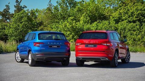 Škoda modifikuje Karoq a Kodiaq