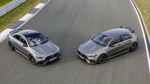 Nový Mercedes-AMG A 45 a CLA 45: Kompaktné superšporty?