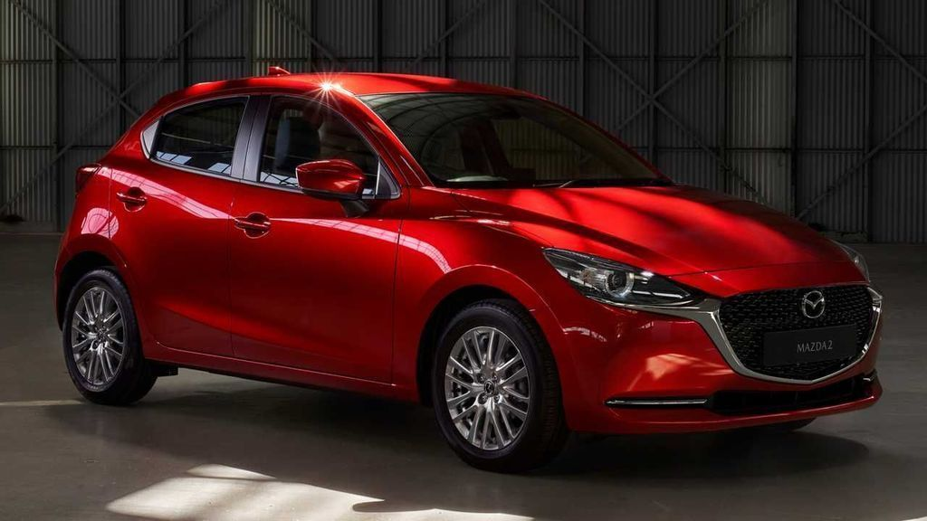 modernizovaná Mazda 2 2020