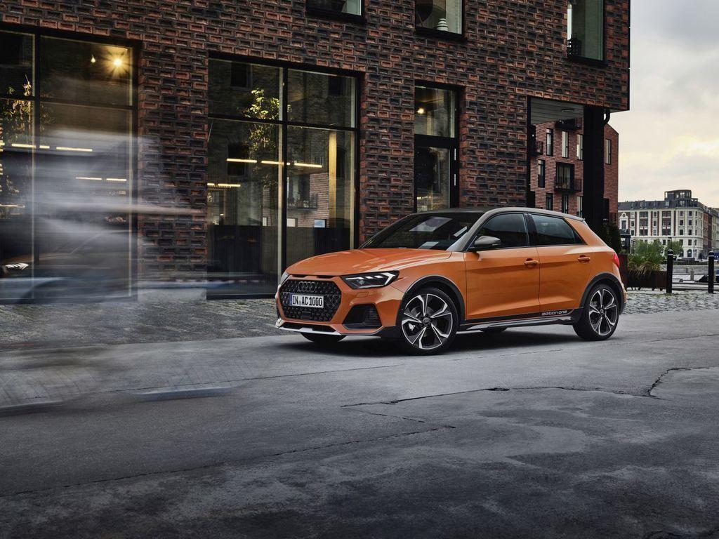 nové Audi A1 citycarver 2020
