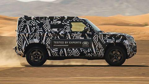 Nitriansky Land Rover Defender už dokončujú