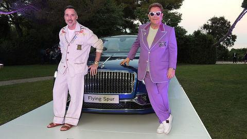 Elton John vydražil nový Bentley za700.000 €