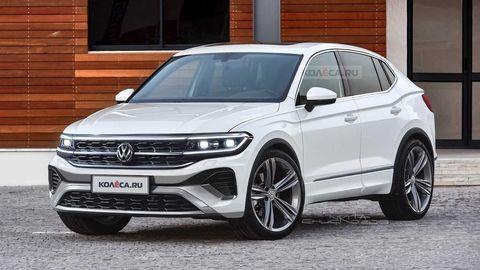 Nový Volkswagen Tiguan 2022 na neoficiálnych ilustráciách