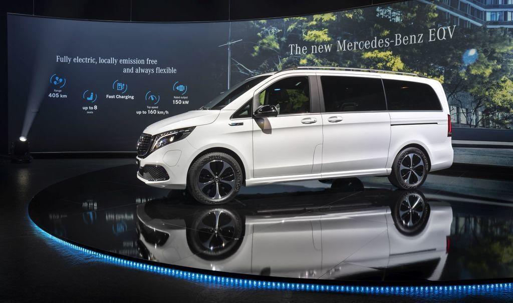 nový Mercedes-Benz EQV