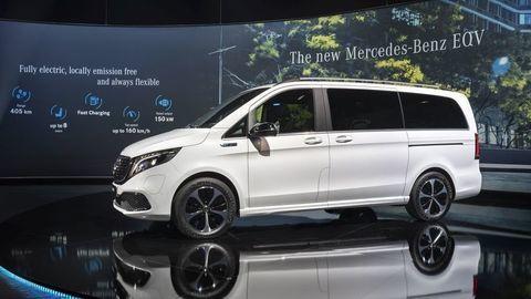 Prvý kontakt s elektrickým Mercedesom V