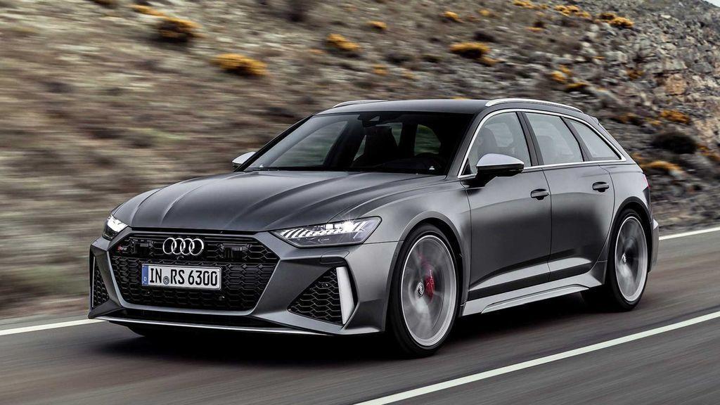 nové Audi RS6 2020