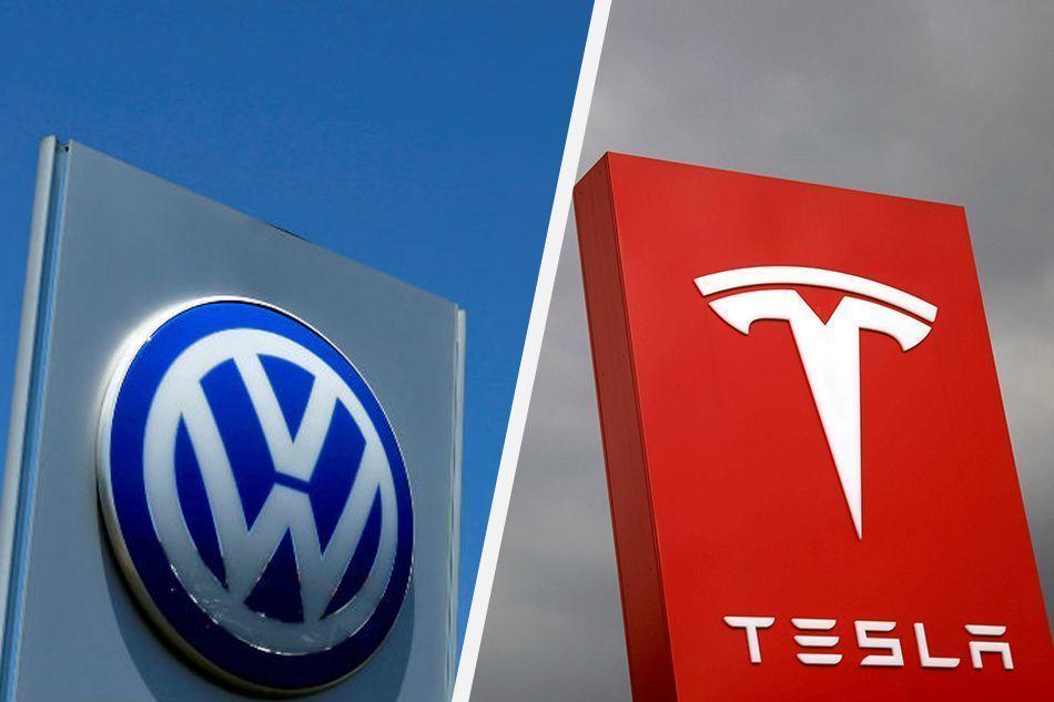 VW podiel v Tesle