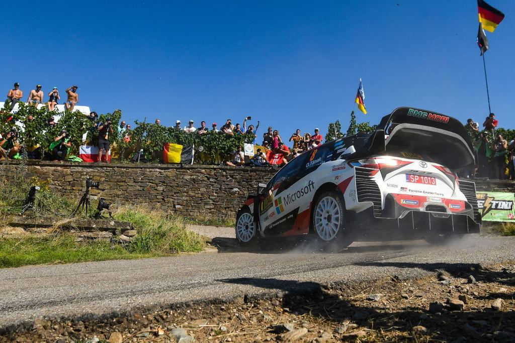 Toyota Yaris WRC Ott Tanak Nemecko