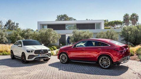 Nový Mercedes-Benz GLE kupé prichádza hneď aj vo verzii AMG