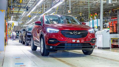Opel Grandland X odteraz z Eisenachu
