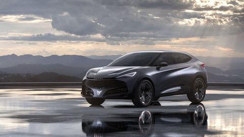 Cupra vyvíja prvý elektromobil: Tavascan