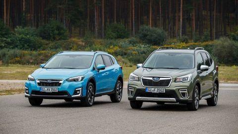 Hybridné Subaru Forester a XV e-BOXER prichádzajú. Poznáme ceny