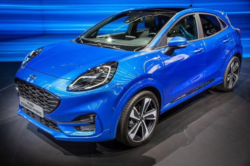 Ford na autosalóne Frankfurt 2019, nový Ford Puma