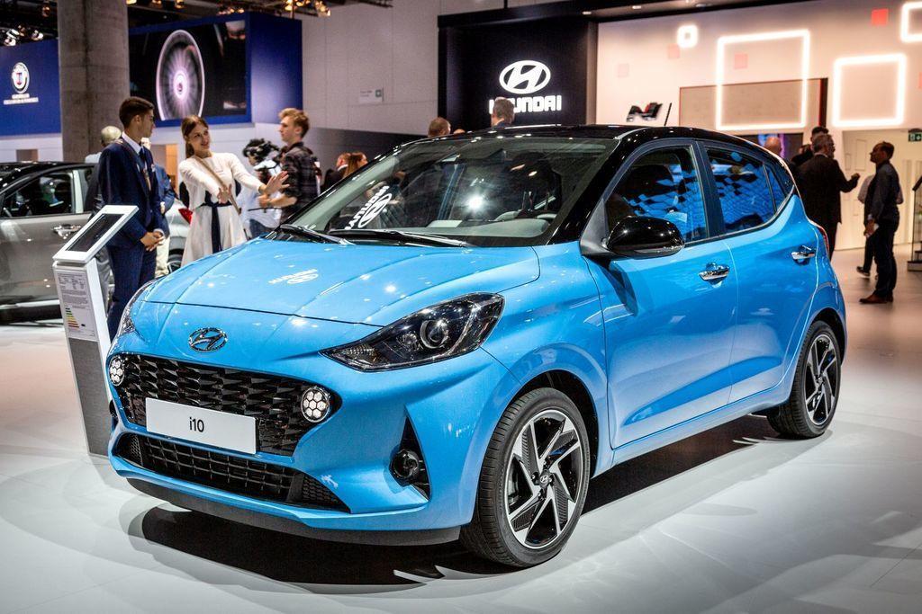 Hyundai Autosalón Frankfurt 2019 , nový Hyundai i10