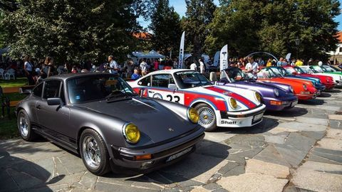 Zraz Porsche Fans Family Day 2019 stál za to