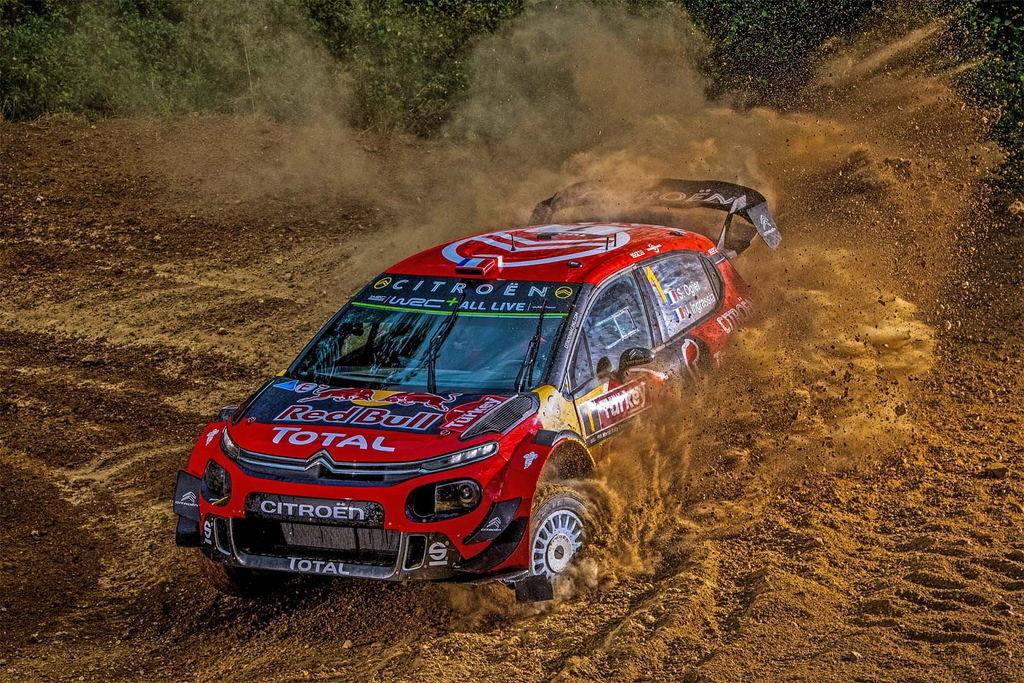 Loeb Citroen C3 WRC