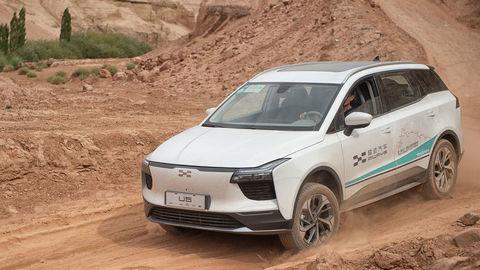 Čínsky elektromobil Aiways zvládol 15.000 km skúšku ohňom