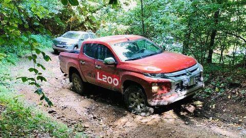 Nové Mitsubishi L200 sme vyskúšali v náročnom teréne. Poznáme aj ceny
