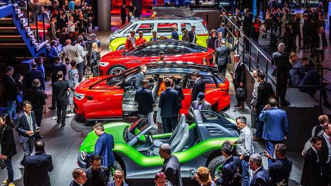 Motoring 21. 9. 2019: Autosalón Frankfurt