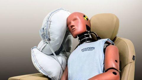 Hyundai vyvinul nový typ airbagu. Vyplní bezpečnostnú medzeru