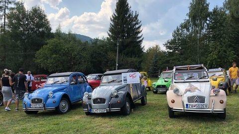 """""""Káčatká""""Citroën mali zraz v Medzilaborciach"""