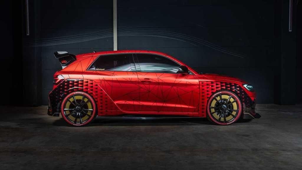 Audi A1 ABT 400 Hp