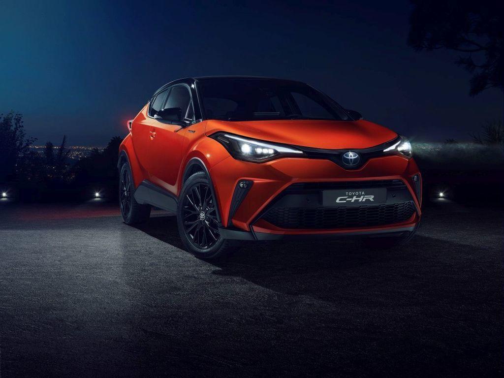 nová modernizovaná Toyota C-HR