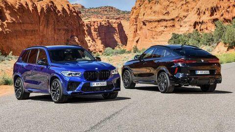Nové BMW X5 M a X6 M prichádzajú so 625 koňmi verzie Competition