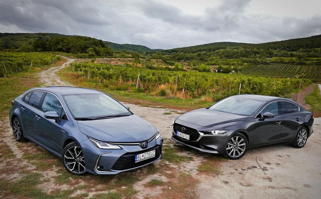 Mazda3 vs. Toyota Corolla: Atmosféry v nových úlohách