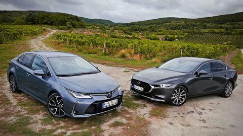 TEST Mazda3 vs. Toyota Corolla: Atmosféry v nových úlohách