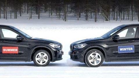 Letné gumy na snehu nefungujú ani s pohonom 4x4. Tu je dôkaz