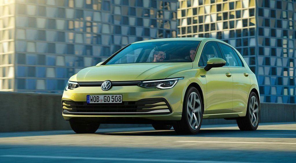 Nový VW Golf 8