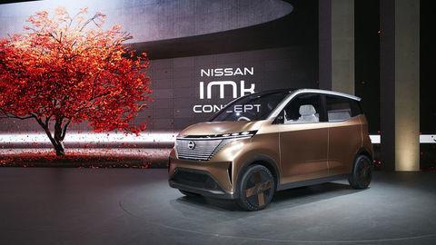 Nissan IMk je koncept mestského elektromobilu